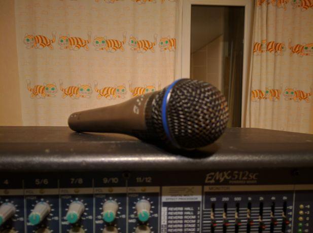 Проводный вокальный динамический микрофон JTS sx-8