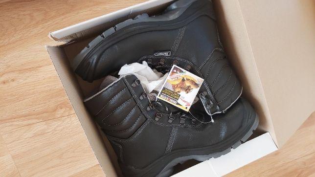 Męskie buty robocze buty ochronne zimowe buty ocieplane odzież bhp