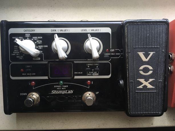 Vox Stomplab mini pedal de efeitos
