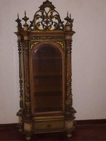 Oratório Vitrine  Sec XIX dourado