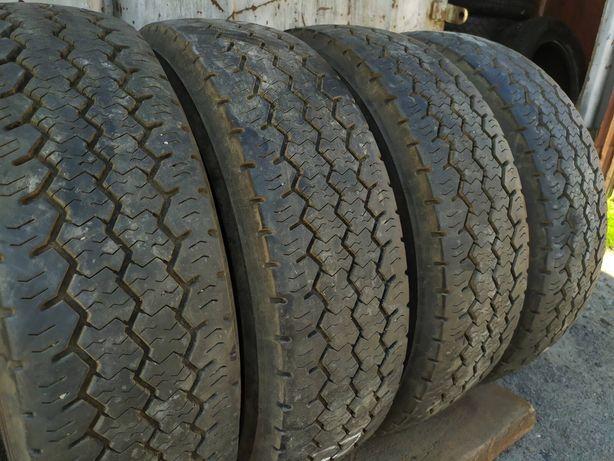 Шины бу R14C 185 резина летняя Dunlop made in Germany