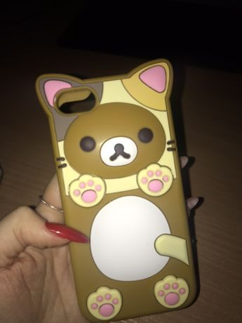 Чехол на iphone 7 (кот)