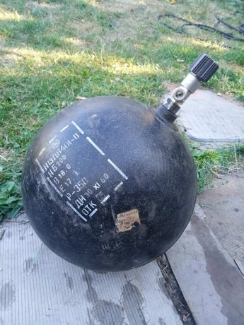 Баллон ВД шар пневматический 350 бар 17 литров надувной шарик
