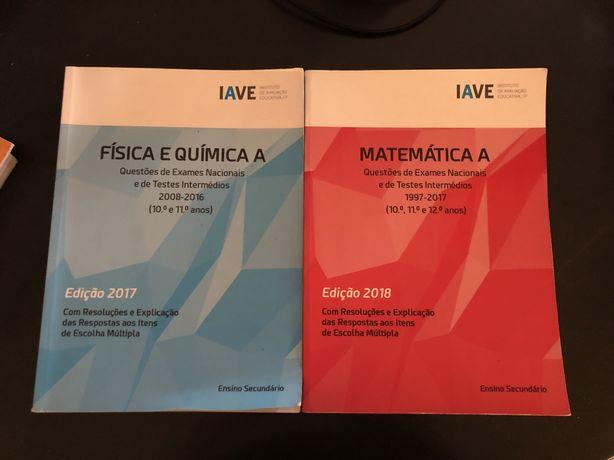 Livro iave fisica e química A e matemática A