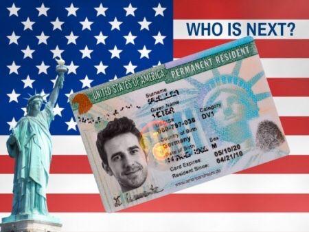 Заявка в лотерею грин карт (green card) 2022