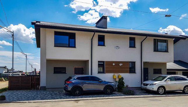 Продается новый дом-дуплекс 128 кв.м. в коттеджном городке Балатон