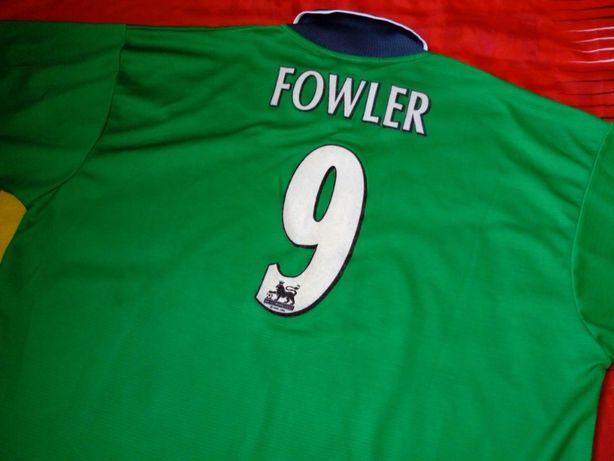 Robbie Fowler LIVERPOOL FC rere Retro 1999/2000 size XL