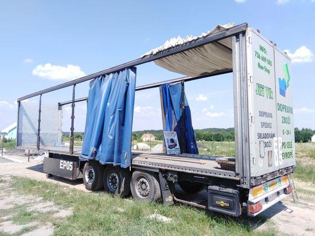 Штора бортоштора тент борта ворота на полуприцеп і грузовик установка