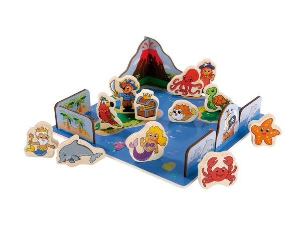 Деревянный 3D пазл Море Playtive Junior