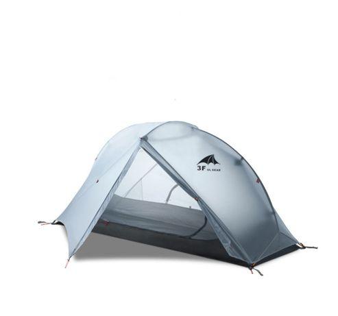 Палатка 3f ul giar Piaoyun 1 чел 2 слоя 1,4 кг силиконейлон 15D