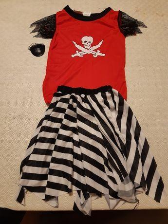Fato de carnaval de Pirata Girl
