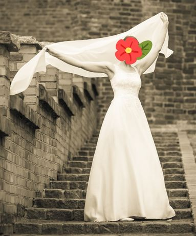 Suknia ślubna - XS