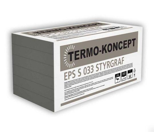 Styropian grafitowy termo-koncept lambda 033 grubość 14cm