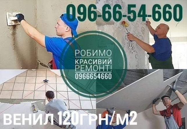 Робимо ремонт будинків квартир та офісів терас