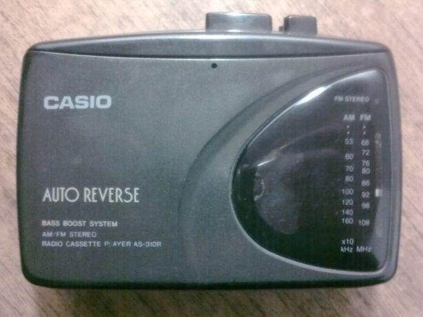 кассетный радио плеер CASIO