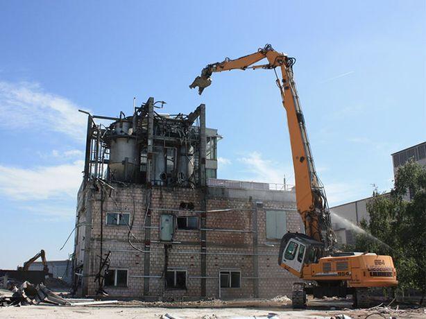 Демонтажные работы, снос зданий по всей Украине, любой сложности
