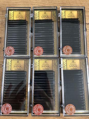 Paleta rzęs Premium Mink Lashes C 0.07T 10mm, 11mm, 12mm