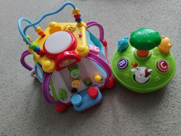 Kostka edukacyjna zabawki grzebek