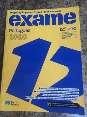 Livro de preparação para o exame de português 2020