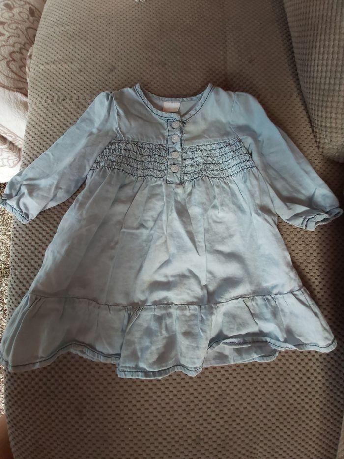 Sukienka jeansowa 74 Węgierska Górka - image 1