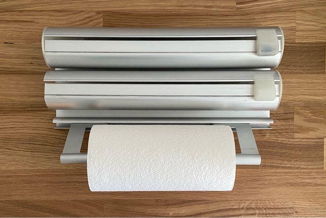 Suporte papel de cozinha /aluminio/ vegetal / aderente