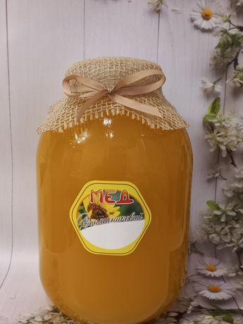 Соняшниковий мед. Мед подсолнуха с разнотравьем.