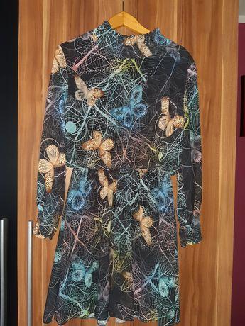 Sukienka  motyle