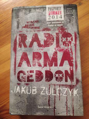 """Ksiazka Jakub Żulczyk """"Radio Armageddon"""""""