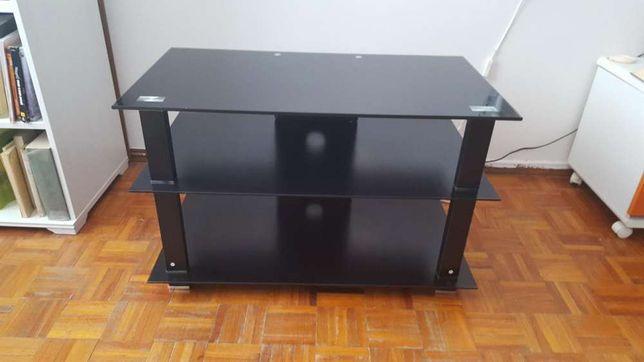 Vendo mesa de Tv em vidro temperado