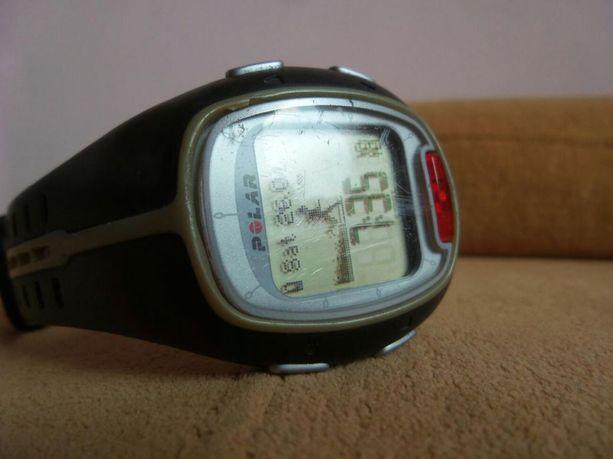 Zegarek pulsometr Polar RS 200 do biegania na rower