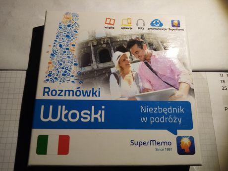 Rozmówki Włoski superMemo książka + aplikacja + MP3