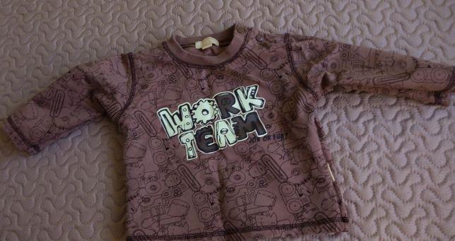 Bluza bluzka 9-12m 74 80 nie używane 3szt nowe