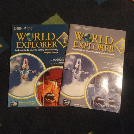 Podrecznik zeszyst cwiczen jezyka angielskiego World Explorer 1