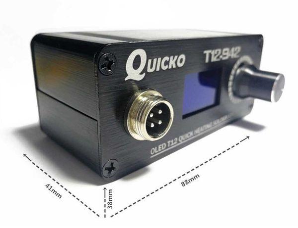 Скидка на Паяльную станцию Quicko T12-942,  Quicko T12-952