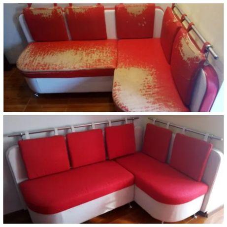 Перетяжка, ремонт, обивка, реставрация дивана, кресла, стула!!