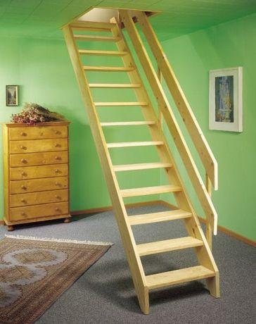Деревянная лестница Собери Сам