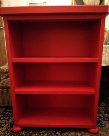 Regał pokojowy kol. czerwony Ikea jak Nowy !!!