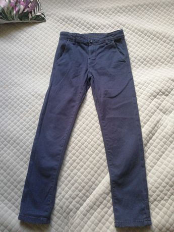 Spodnie eleganckie slim 128 smyk