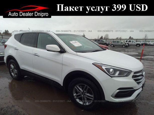 2018 Hyundai SANTA FE (Авто в США)
