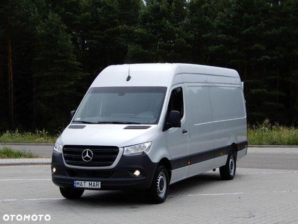 Mercedes-Benz Sprinter 319 CDI V6 190 Km 7G-Tronic Furgon Blaszak 4.40 Cm + WINDA Załadowcza B.A.R Stan Jak NOWY  100 % Bezwypadkowy ! Salon PL ! I Właściciel ! Mega OKAZJA !