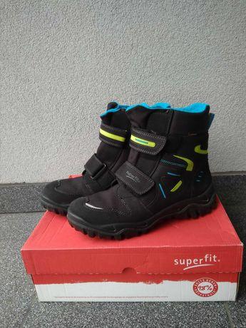 Buty zimowe śniegowce Superfit r. 41 goretex bdb