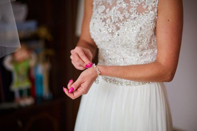 Wyjątkowa suknia ślubna rozm.36