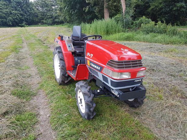 Yanmar F7 4X4 traktorek iseki kubota