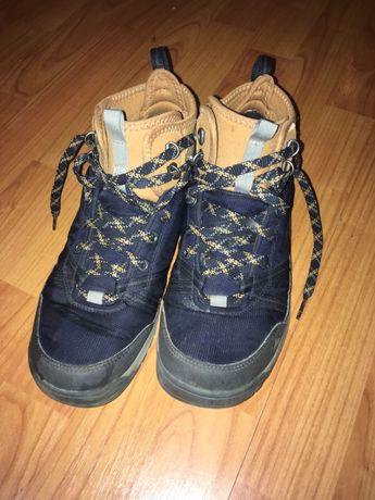Buty zimowe dziecięce, trapery Decathlon Quechua 40