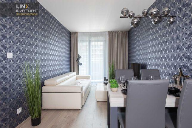 Klimatyzowane mieszkanie 46 m2 w inwestycji Wiślane Tarasy 2.0