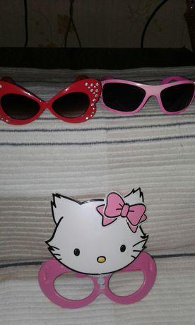Очки для девочки, вторые в подарок