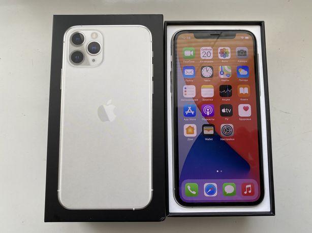 Iphone 11 pro 256 gb silver Neverlock 99% akku