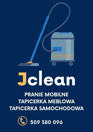 Jclean: Mobilne Czyszczenie/Pranie Tapicerki