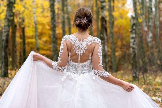 Suknia ślubna MS Moda Alisa 36 38