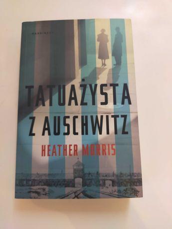 Nowa książka Tatuażysta z Auschwitz
